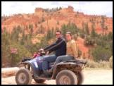 Guesst at Casto Canyon ATV Trail near Bryce Canyon