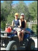 Guest leaving for Paiute ATV Trail